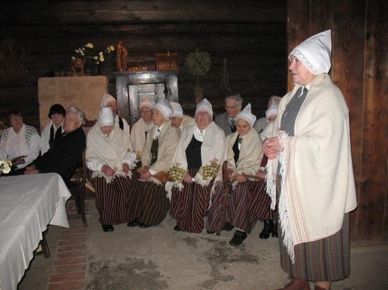 Rudens Brakos - stāsta vadītāja Anna Kuzina
