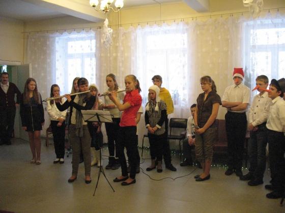 Flautu Ziemassvētku melodijas