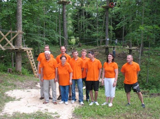 Atrakciju parka darba komanda