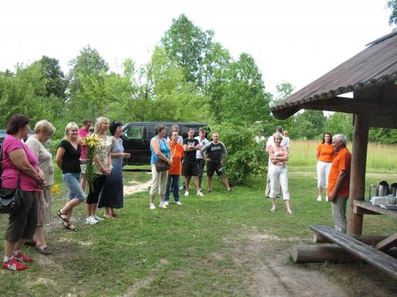 Atrakciju parka atklāšana - 21.jūlijs