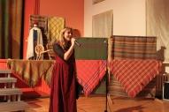 Konkursa noslēguma pasākumu vada Dailes teātra aktrise Aija Dzērve