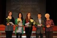 Līvija Volkova un veicināšanas balvu ieguvēji